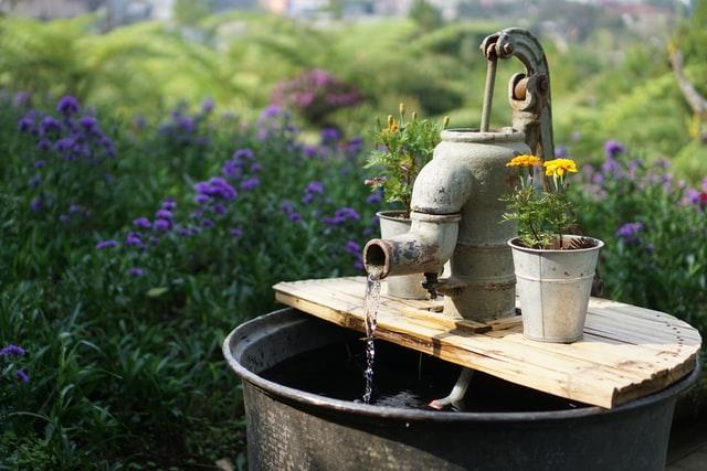 ilustrasi air tanah sehat